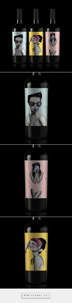 Fatal Wine - Packaging of the World - Creative Package Design Gallery - http://www.packagingoftheworld.com/2017/09/fatal-wine.html
