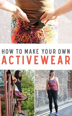 Active Wear is not only popular in retail fashion, but also in DIY. Why not make your own and show your style while working at the gym or when hitting the tracks.With the help of Melissa from FehrTrade Patterns we put together How to Make Activewear Skillset full of tips.