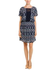 Ella Moss Midnight Multicolor Print Dress