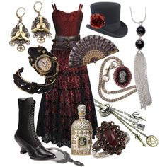 Steampunk Ball, Created by lunachick on Polyvore