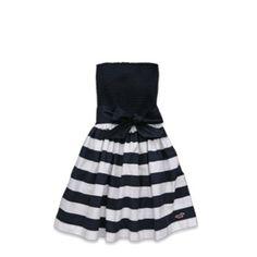 Beach dress! Black and white!