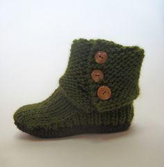 Ravelry: Prairie Boots pattern by Julie Weisenberger