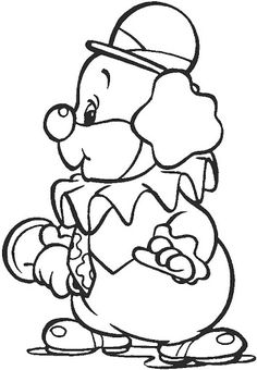 clown free coloring pages coloring pages - Clown Coloring Pages 2