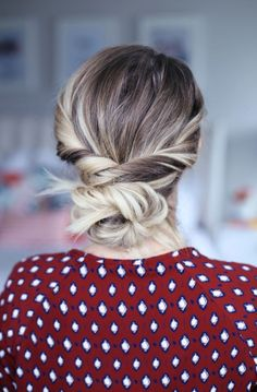 Holiday Hairstyles using the Goody Spin Pin! - Twist Me Pretty