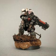 Tau Warhammer, Warhammer 40k Space Wolves, Warhammer 40k Figures, Warhammer Paint, Warhammer Models, Warhammer 40k Miniatures, Warhammer Armies, Dibujos Pin Up, Dnd 5e Homebrew