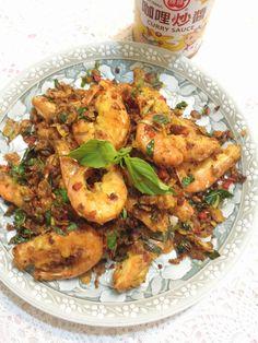 玉米脆片之避風塘炒蝦食譜、作法 | 澤媽懶人料理餐~的多多開伙食譜分享