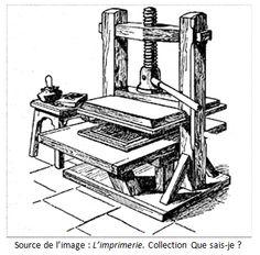 Histoire accélérée de l'imprimerie, de Gutenberg à IMS