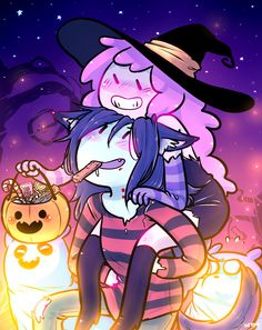 Happy Halloween! Bubbline by seto2