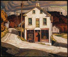 A.J. Casson - Store at Salem (1931)