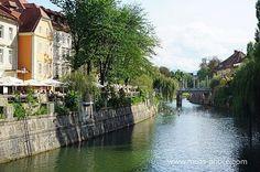 Ronnie Moas Photography | Ljubljana... The cultural, educational, economic and political center of Slovenia. #Ljubljana #Slovenia #Travel #Explore #Nature #Water #BeautifulCity #River