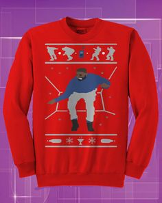 Hotline Bling Ugly Christmas Sweater Drake Christmas by rwelite ...