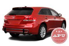2009-2015 Toyota Venza Rear Bumper Guard Protector Black Powder Coated #20092015