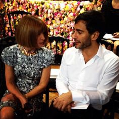 Idols. Anna Wintour & Marc Jacobs