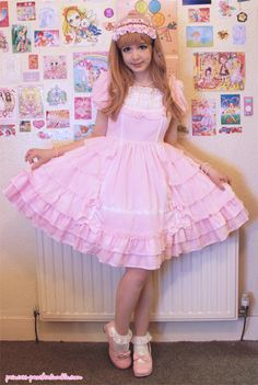 Princess Peachie in Lolita- Shoujo Maiden