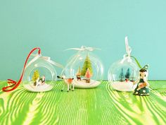 DIY Christmas Hanging Terrariums | My So Called Crafty Life