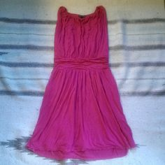 Pink sleeveless dress Like new, size M. Photo does it no justice . Express Dresses