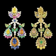 """Cher Dior - """"Majestueuse Multicolore"""" earrings. Discover more on www.dior.com"""