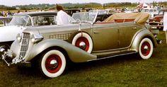 Auburn 851 Phaeton 1935 - Auburn (automerk) - Wikipedia
