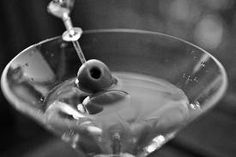 Classic Martini - Black n White Cocktail Party Essential.