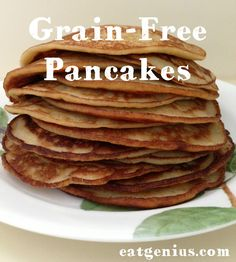 Are you tired of grinding and soaking your grains to remove the anti-nutrients? This is a nice alternative to grain-based flours. Use very ripe bananas for swee