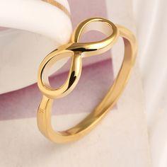 Aliexpress.com: Comprar Moda Corea Pour Ocho Joker Contrajo Temperamento Costoso Anillo de Metal de Alta calidad Anillo de Accesorios de Moda Femenina de Oro Aneis de anillo de color beige fiable proveedores en XingPeng Jewelry Co.,Ltd