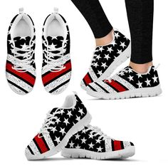 12514794f8fea Thin Red Line Premium Mesh Sneakers