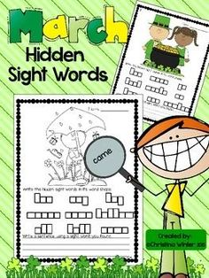 Your students will love using a magnifying glass to find the hidden sight words! They will be engaged as they recognize, practice reading, and write the words. Your students will also practice writing a complete sentence with one or more of the sight words.