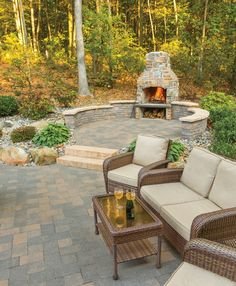 WOW !! another awesome outdoor fire place and patio, materials available at 856-740-1445 BF Landscape www.bflandscape.com
