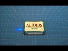 How to Make an Emergency Cell Phone Charger with an Altoids Tin Altoids Mints, Portable Phone Charger, 9 Volt Battery, Mint Tins, By Any Means Necessary, Household Items, Ipod, Survival, Emergency Preparedness