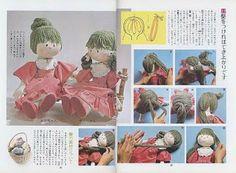 Flores & Mimos: Bonecas - Revista japonesa