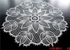 "Photo from album ""Салфетки on - Crochet Doilies, Mandalas & Feathers Crochet Books, Crochet Home, Thread Crochet, Filet Crochet, Irish Crochet, Crochet Stitches, Free Crochet Doily Patterns, Crochet Motif, Crochet Designs"