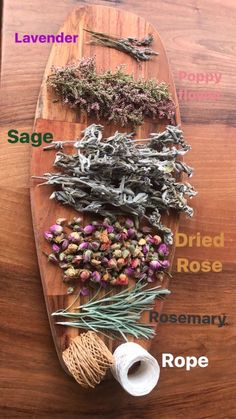 Seven Useful Shade Tolerant Groundcovers For Tough Spots Smudge Lavender Sage Popy Flowers Dried Rose Rosemary - Baton De Fumigation Lavande Sauge Spiritual - Spiritualit Sage Smudging, Smudging Prayer, Smudge Sticks, Witch Aesthetic, Witchcraft, Magick, Wiccan Spells, Magic Spells, Kitchen Witch