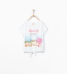 Imagem 2 de T-shirt estampado fotográfico da Zara