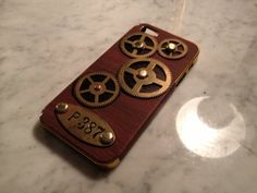 iGearz Hand Made Apple iPhone 5 5S Steampunk Neo by iGearz on Etsy, $64.99