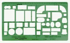 Crafts Drawing Tools - Stencils - Templates - 427259 - C-Thru ...