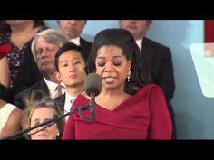 ▶ Oprah Winfrey Commencement   Oprah's Best Speech Ever   Harvard University - YouTube