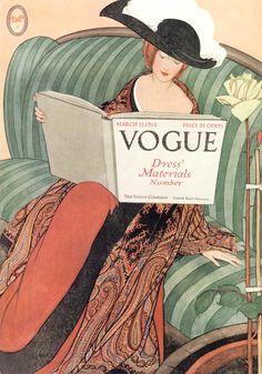 Vogue Magazine by George Plank, 1912.