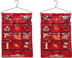 Checkout this latest Foldable Wardrobes_0-500 Product Name: *13 Pockets Wall Hanging Organiser (Pack Of 2)* Material: Satin Description: It Has 2 Pieces Of 13 Pockets Wall Hanging Organiser Country of Origin: India Easy Returns Available In Case Of Any Issue   Catalog Rating: ★3.9 (1049)  Catalog Name: Attractive Multipurpose Organisers Vol 13 CatalogID_67777 C131-SC1625 Code: 923-606233-708