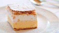 Domáci krémeš | Recepty.sk Sweet Desserts, Dessert Recipes, Cheese Ball, World Recipes, Cheddar Cheese, Vanilla Cake, Food To Make, Cheesecake, Deserts
