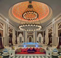 The Talise Ottoman Spa Hydrotherapy at the Jumeirah Zabeel Saray Hotel, Dubai is a spectacular, OldWorld, Turkish style Ottoman Hammam In Dubai, Dubai Hotel, Hotel Spa, Dubai Uae, Spa Luxe, Luxury Spa, Luxury Life, Luxury Hotels, Lady Luxury