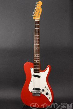 Fender USA Bullet Deluxe Red