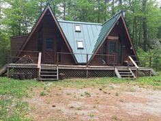 Carrabassett Valley, Maine Vacation real estate for sale - UNDER CONTRACT Adorable double A frame in popular Spring Farm. Close to all outdoor recreation!
