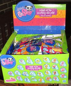 LITTLEST PET SHOP BLIND BAG COLORFULLY CUTE PETS Entire set of 24 SEALED BAGS #HASBRO