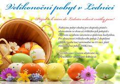 Velikonoce u Butlerovi ubytování Easter Specials, Sunday Breakfast, Relaxing Day, Easter Holidays, Eggs, Dining, Food, Essen, Egg