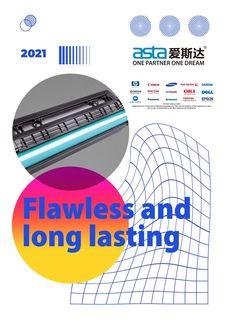 Flawless and long lasting print Label Paper, Toner Cartridge, Epson