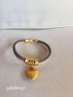 Excited to share the latest addition to my #etsy shop: Pastel color cord bracelet, Gold Plated accessories, bracelet of bride. D #jewelry #bracelet #bracelethandmade #bridesmaidgift #bridalbracelet #beachwedding #weddingjewelry