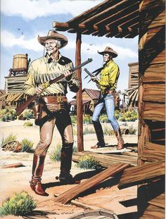 Global Press™: Tex Willer e Kit Carson Western Comics, Western Art, Cowboy Art, Cowboy And Cowgirl, Kit Carson, Country Dance, War Comics, Cowboys And Indians, Le Far West