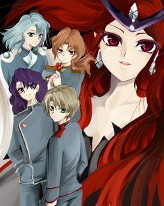sailor moon / queen beryl / generals - Zerochan