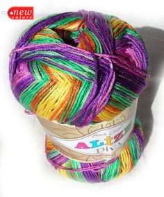 Alize Diva Batik Design Yarn. Hypoallergenic by HandyFamily