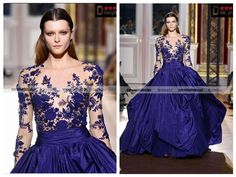 Elegant Ball Gown Royal Blue Long Lace Sleeve Evening Dresses For Sale Photo, Detailed about Elegant Ball Gown Royal Blue Long Lace Sleeve Evening Dresses For Sale Picture on Alibaba.com.